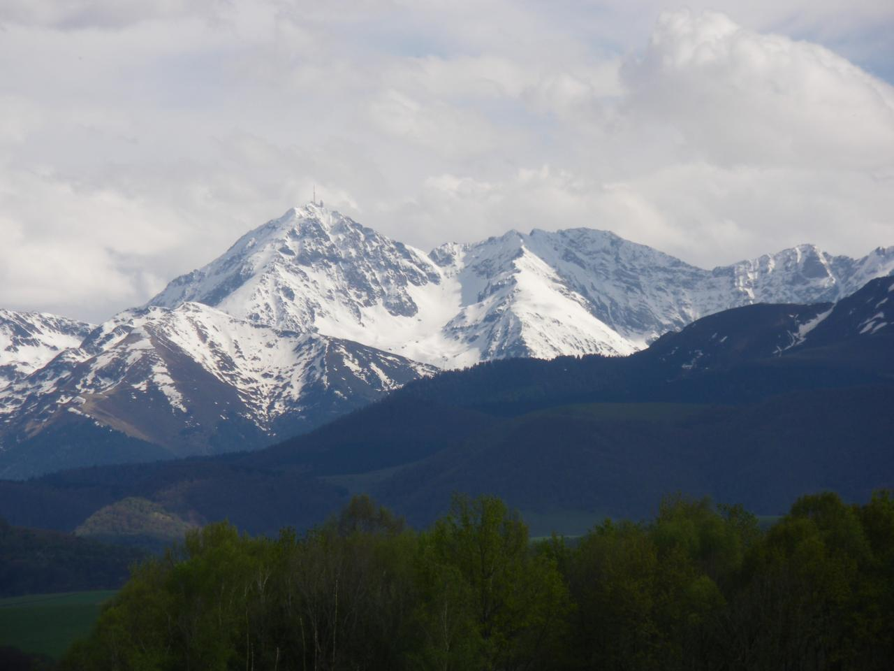 Le Pic du Midi de Bigorre, 2876 mètres