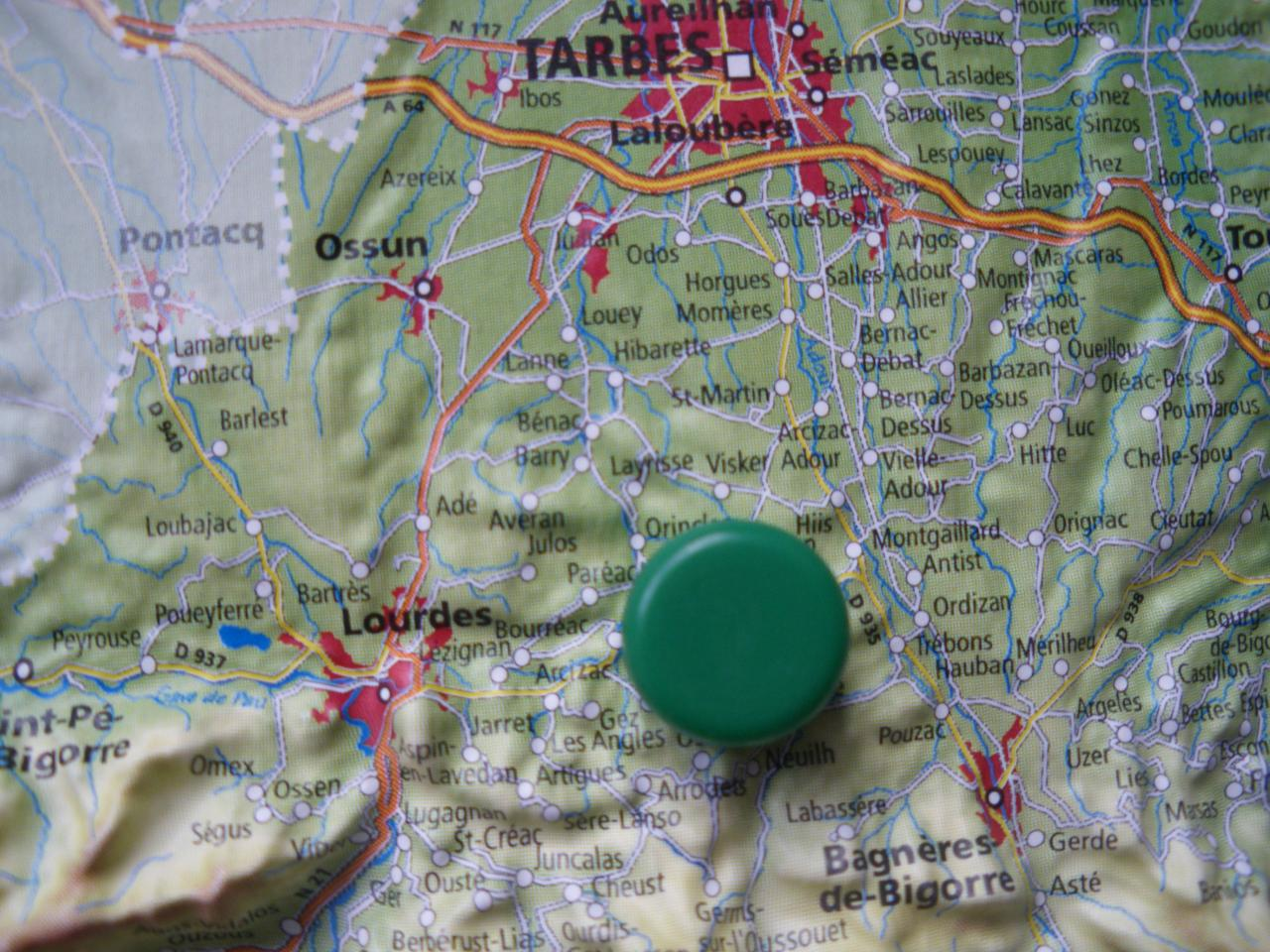 Visker, au centre du triangle Tarbes, Lourdes & Bagnères de Bigorre